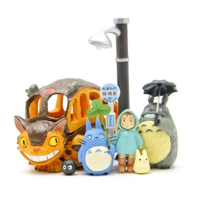 Mi vecino Totoro - Pack de 8 figuras