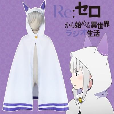 Re Zero - Capa de Emilia