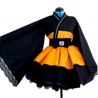 Cosplay Naruto - Kimono version chica