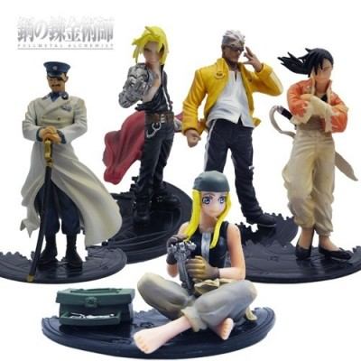 Fullmetal Alchemist - Set de 5 figuras