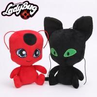 Miraculous Ladybug - Peluche de Plagg y Tikki
