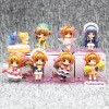 Sakura Card Captor - Pack de 8 figuras