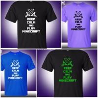 Camiseta Minecraft - Varios Colores