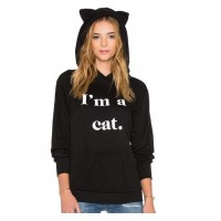 Sudadera I am a cat
