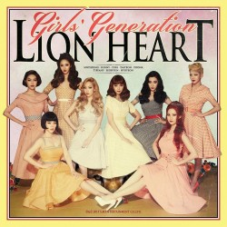 GIRLS GENERATION - LION HEART (5th ALBUM)