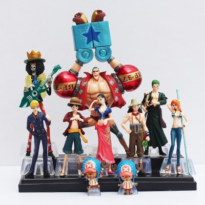 One Piece - Set de 10 figuras