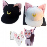 Sailor Moon - Gorra Luna ó Artemis
