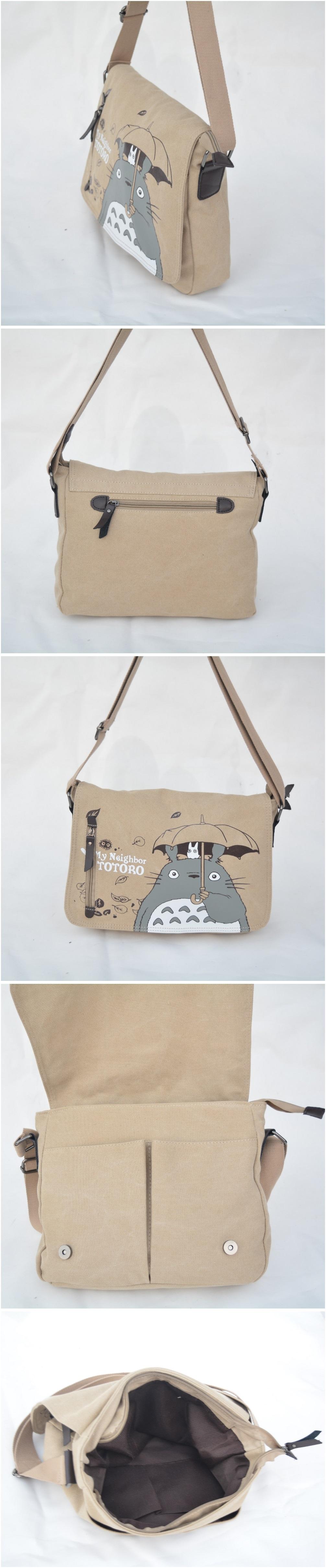 Mi vecino Totoro Bolso tipo bandolera 2